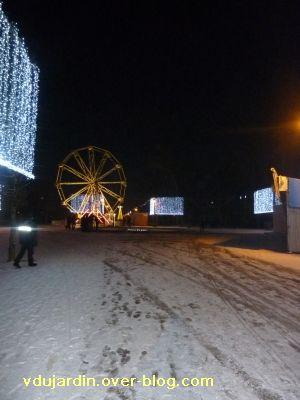 Poitiers, averse de neige du 14 décembre 2010, 4, parc de Blossac grande roue