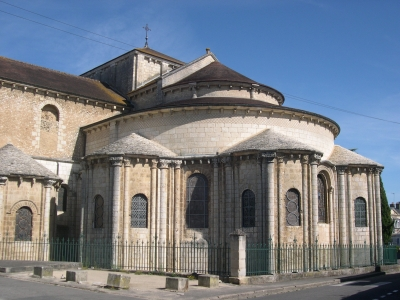 Chevet de l'église Saint-Hilaire-le-Grand