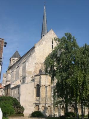 Chevet de Sainte-Radegonde à Poitiers