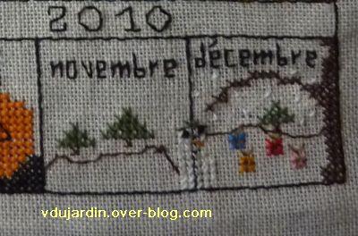Pas un mois sans petite croix, novembre et décembre de Miss Fil, corrigé