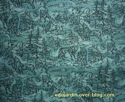 Concours loups 2011 : un tissu avec des loups