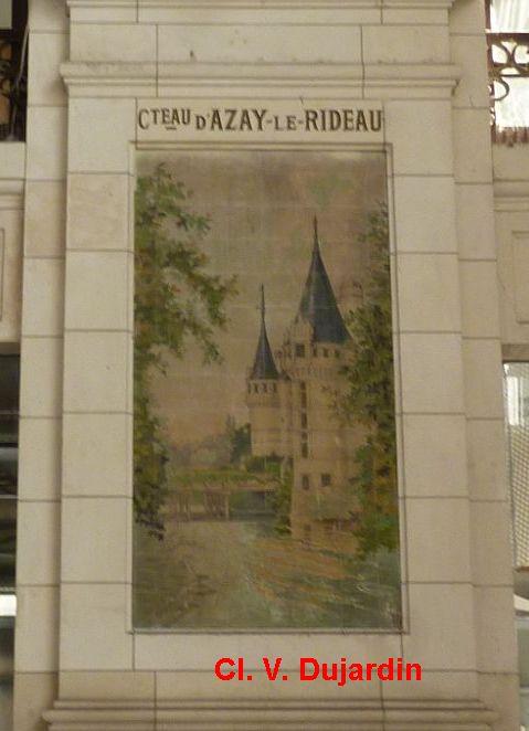 Tours, la gare, l'intérieur, 17, Azay-le-Rideau