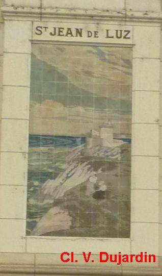 Tours, la gare, l'intérieur, 33, Saint-Jean-de-Luz