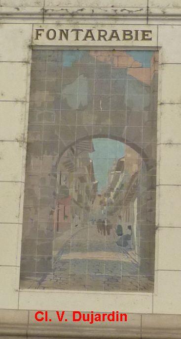 Tours, la gare, l'intérieur, 35, Fontarabie