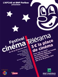 Affiche du Festival Télérama 2011
