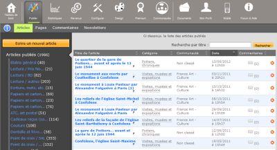 ADministration du blog, 2 janvier 2011