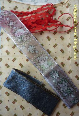 Noel 2010 par Cathdragon, 3, le tissu, le croquet et les rubans