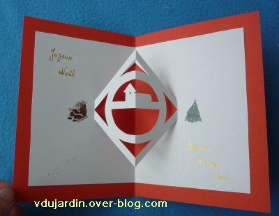 Noël 2010 par Capucine O, la carte