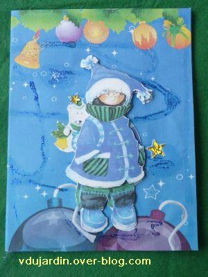 Noël 2010 par Dianou, 3, la carte