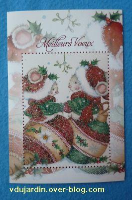 Noël 2010 par Virajaja, la carte de voeux