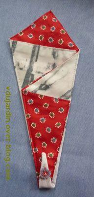 Noël 2010, la pochette à ciseaux pour Virjaja