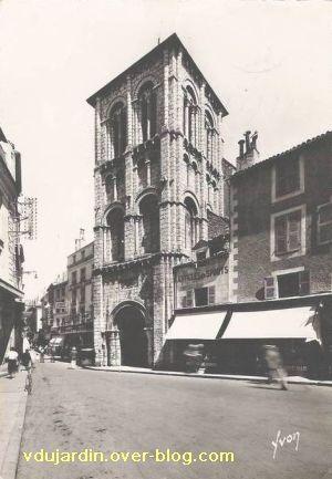Poitiers, église Saint-Porchaire, carte postale ancienne, 4