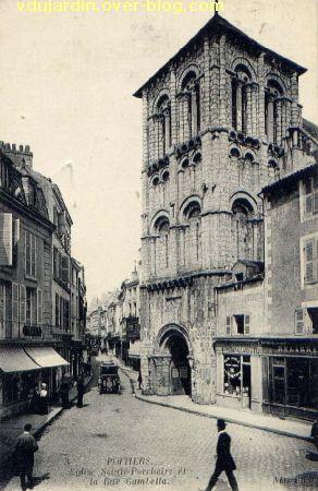 Poitiers, église Saint-Porchaire, carte postale ancienne, 5