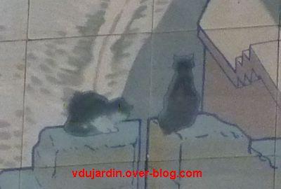 Tours, la gare, l'intérieur, 04, Carcassonne, les chats