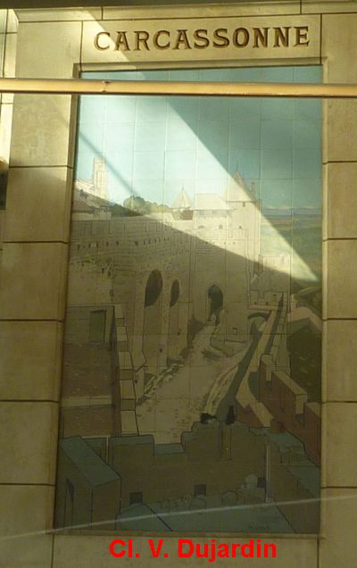 Tours, la gare, l'intérieur, 02, Carcassonne,
