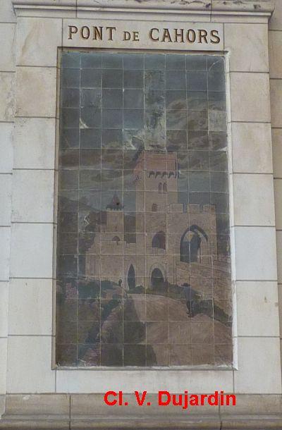 Tours, la gare, l'intérieur, 11, Cahors