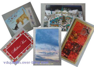 Cartes de voeux 2011 reçues, première série