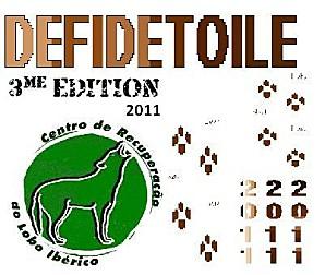 Logo 2011 du concours pour les loups du Mafra