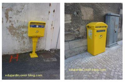 Poitiers, boîte aux lettres, 2, deux boîtes publiques
