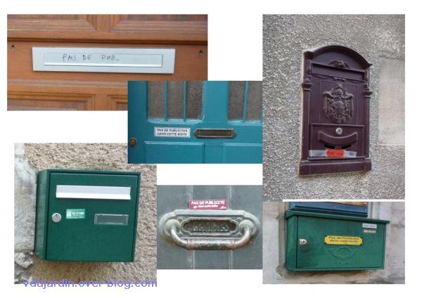 Poitiers, boîte aux lettres, 3, des boîtes privées
