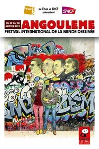 Affiche du festival international de la BD d'Angoulême 2011