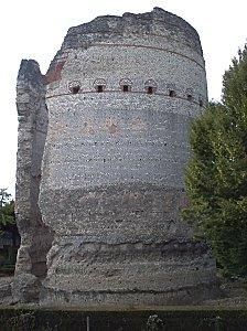 Périgueux, la tour de Vésonne, vue générale