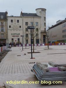 Poitiers, 5 février 2011, lampadaire 4, place d'armes