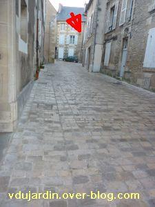 Poitiers, 18 février 2011, trottoir, 08, rue des Balances-d'Or