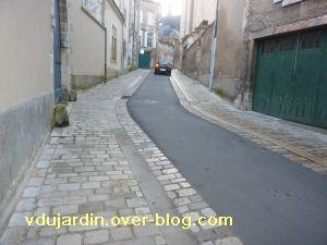 Poitiers, 18 février 2011, trottoir, 09, rue du général Denfert