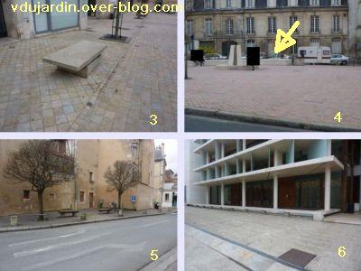 19 mars 2011, Poitiers, défi des bancs, 02, vers la médiathèque