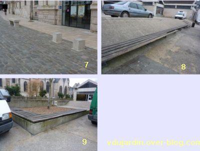 19 mars 2011, Poitiers, défi des bancs, 03, autour du marché