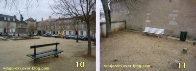 19 mars 2011, Poitiers, défi des bancs, 04, place de la Liberté et rue Saint-Opportune