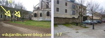 19 mars 2011, Poitiers, défi des bancs, 06, autour de Saint-Jean-de-Montierneuf
