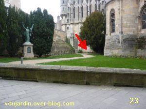 19 mars 2011, Poitiers, défi des bancs, 09, square des Cordeliers