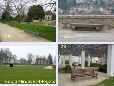 19 mars 2011, Poitiers, défi des bancs, 11, au parc de Blossac