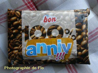 Pour l'anniversaire de Flo : l'emballage