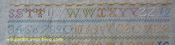 SAL Marie Glover, quatrième étape, détail
