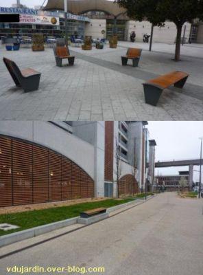 19 mars 2011, Poitiers, défi des bancs, 01, gare