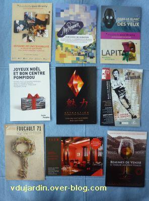 Cartes reçues de Tezca, mars 2011, 2, première série