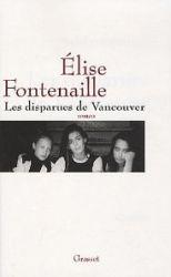 Couverture des Disparues de Vancouver d'Elise Fontenaille