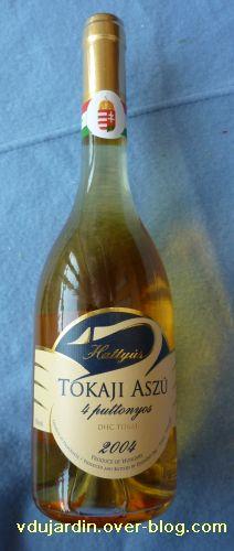 Bouteille de Tokaï