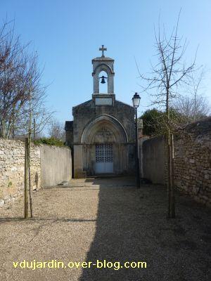 Ligugé, 5, la chapelle du catéchumène