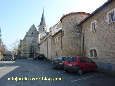 Ligugé, 4, l'église et l'abbaye