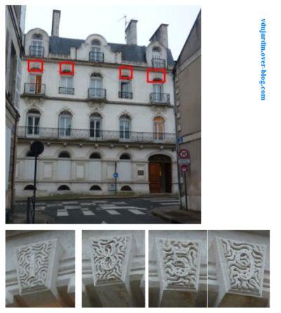 Poitiers, façade de la chambre régionale des comptes