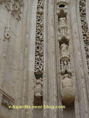 Poitiers, portail de Sainte-Radegonde, rouleau central, 1