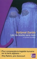 Couverture des demeures sans nom et autres nouvelles de Zariâb