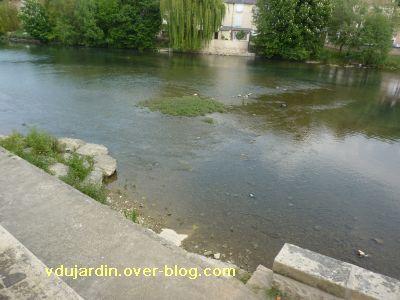 22 avril 2011, Poitiers, 3, le Clain en aval du pont Joubert