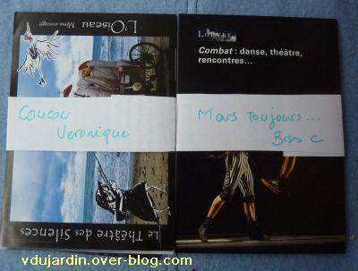 Envoi reçu de Capucine O, cartes à publicité, nouvel envoi de mars 2011, 4
