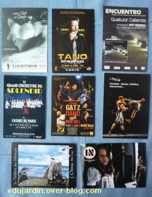 Envoi reçu de Capucine O, cartes à publicité, nouvel envoi de mars 2011, 5