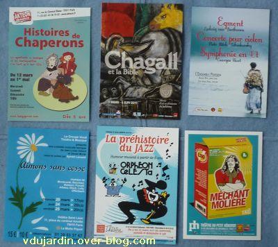 Envoi reçu de Capucine O, cartes à publicité, nouvel envoi de mars 2011, 9